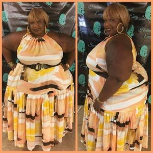 Lane Bryant exclusive for online dress